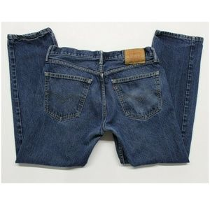 Levi's 505 Regular Fit Jeans (005050216) 34x30